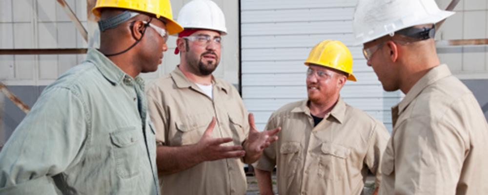 Technicians-talking